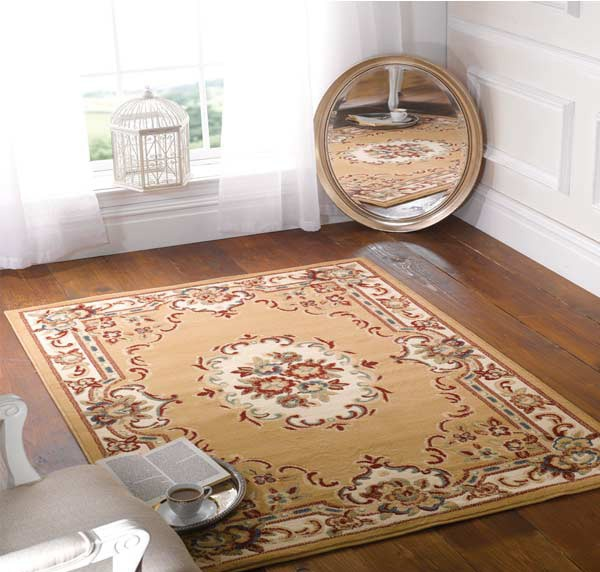 Karpet klasik bergaya retro