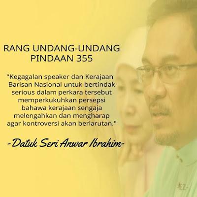 Kenyataan Penuh Anwar Ibrahim Berkenaan Ruu355 Berita 575