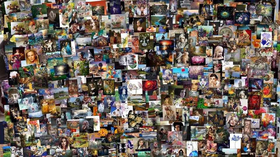Художники и картины в блоге