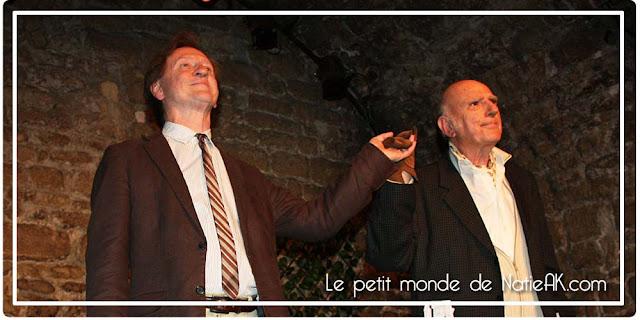 Sortie théâtre Entretiens avec le Professeur Y au théâtre Nesle