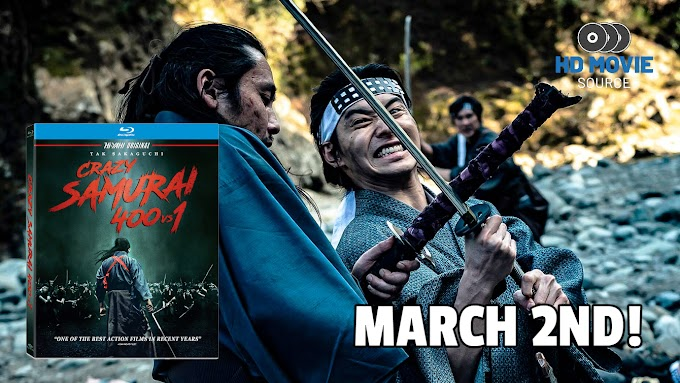 CRAZY SAMURAI: 400 vs. 1 Gets a Blu-ray and DVD Release on March 2nd (Well Go USA)
