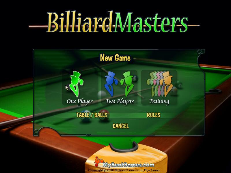 لعبة Billiard Masters