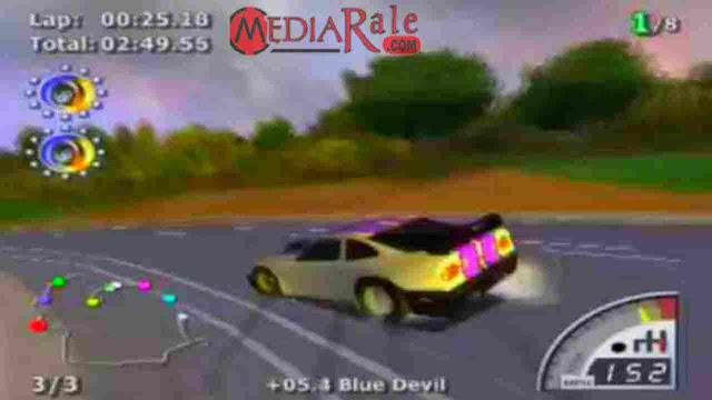 Daftar Cheat Rumble Racing PS2