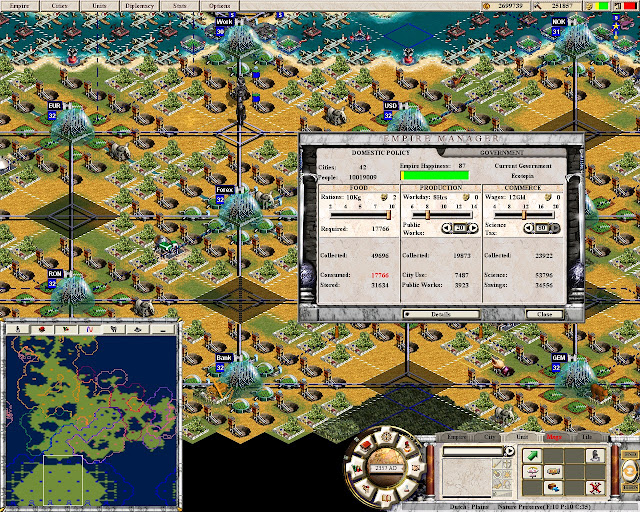 Call to Power 2: Civilization - Public Works Screenshot