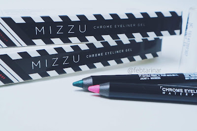 review mizzu eyeliner gel beauty blogger bandung
