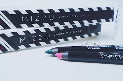 review mizzu eyeliner gel beauty blogger bandung