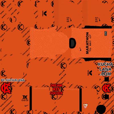 Sevilla FC Kits 2020/21 -  DLS20 Kits