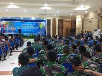 Komandan Kodim 0910/Malinau Letkol Kav Yudi Suryatin S.I.P  M.Si, Hadiri Halal Bihalal Pemkab Malinau