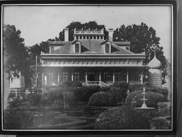 Former Formal Gardens, San Francisco Plantation.