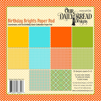 Our Daily Bread Designs Paper Collection: Birthday Brights