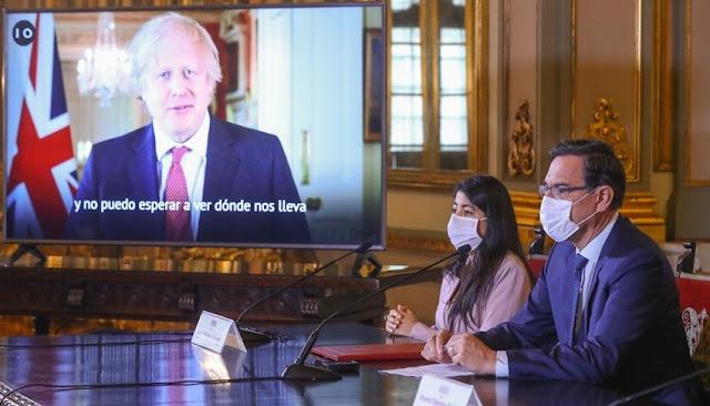 Perú y Reino Unido firman acuerdo para la reconstrucción del norte del país