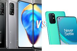 Mi 10t Pro vs Oneplus 8t: Specs Comparision