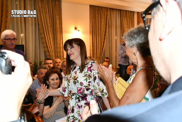 H Γιατρίνα της καρδίας μας Ελένη Παναγιωτοπούλου συνεπήρε και το Ναύπλιο