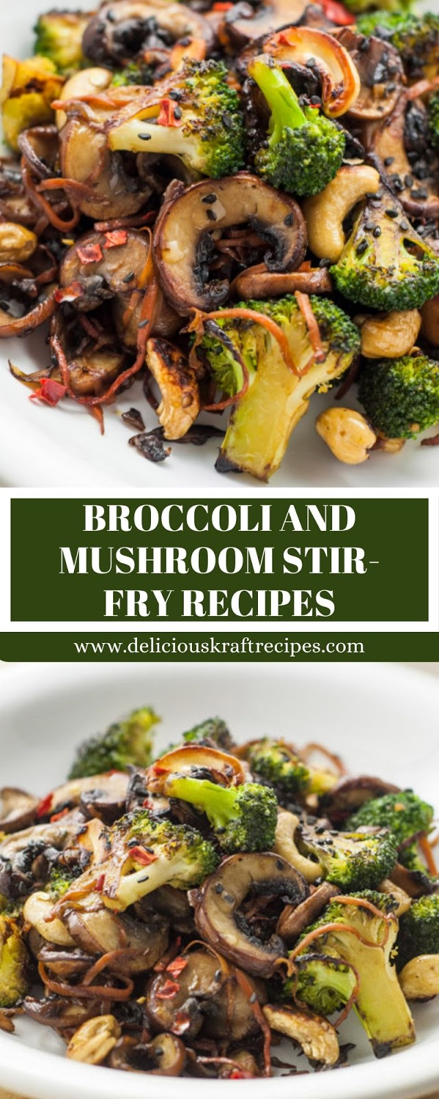 BROCCOLI AND MUSHROOM STIR-FRY RECIPES