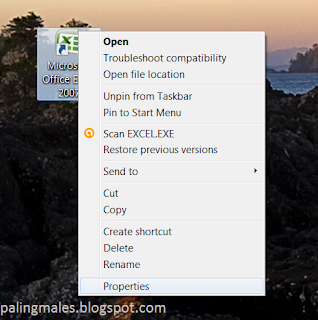 Membuat shortcut keyboard windows