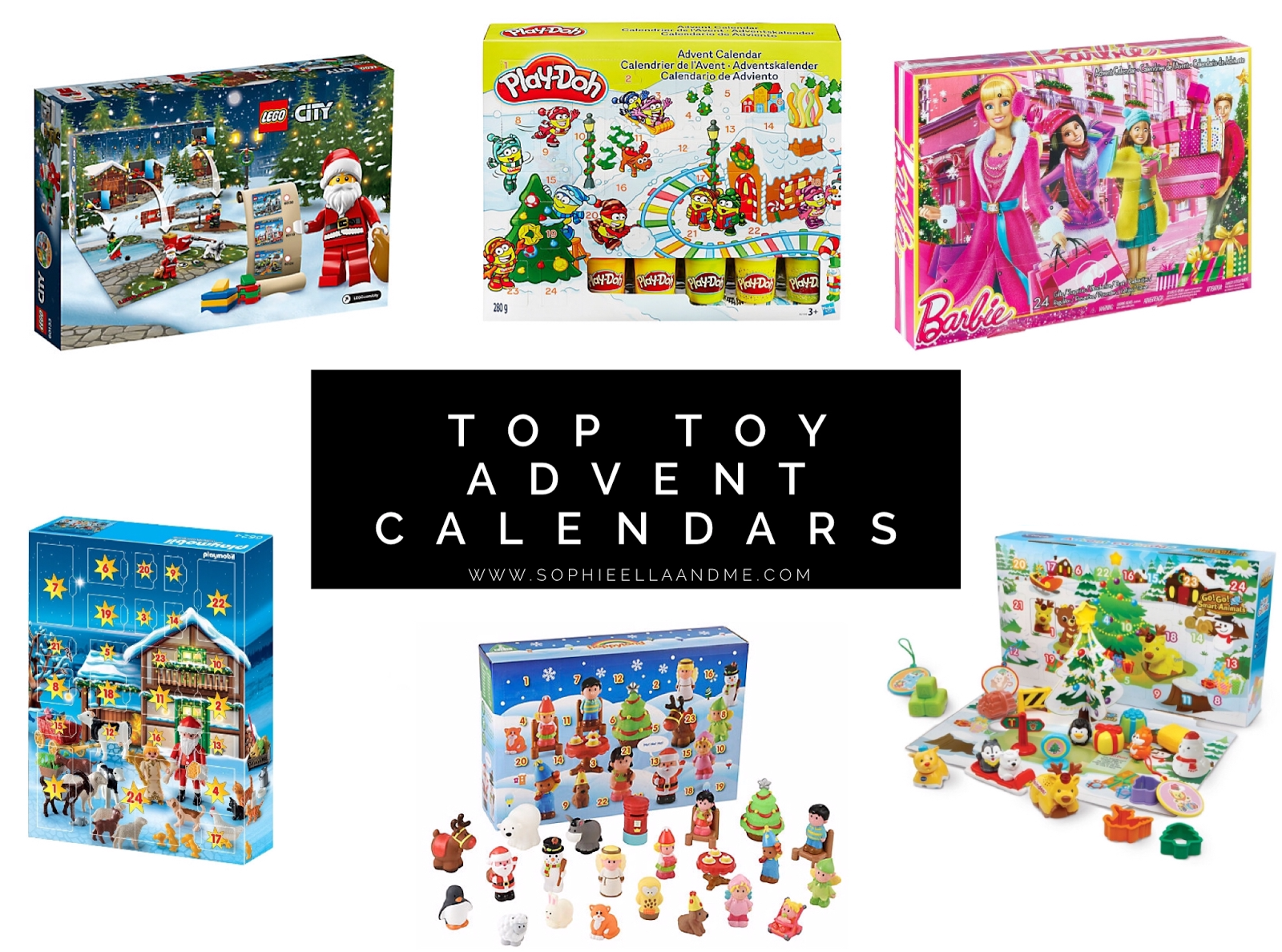 Kids Toy Advent Calendar : Top toy advent calendars for children sophie ella and me