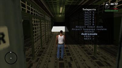 GTA San Andreas Interior Teleporter Latest Version