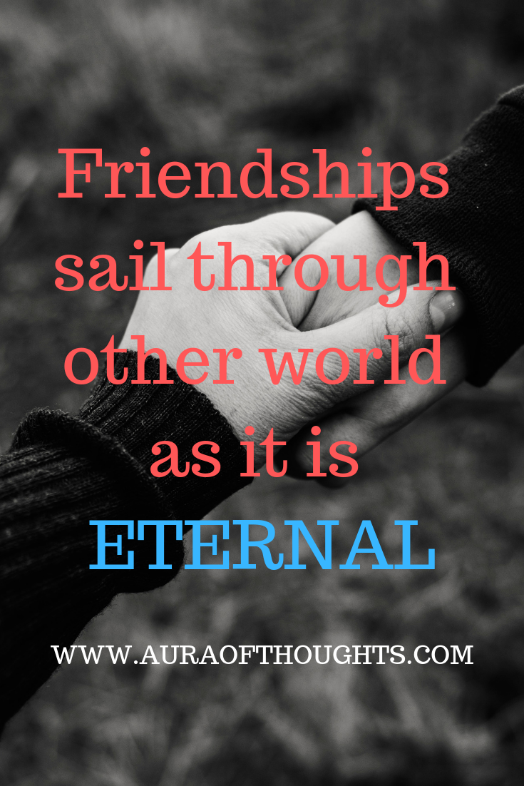 Aura Of Thoughts: Outside My Window : Eternal Friendship Story