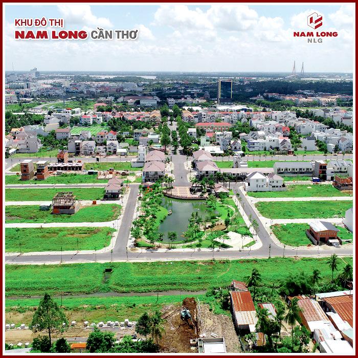 Tổng thể khu đô thị Nam Long Cần Thơ