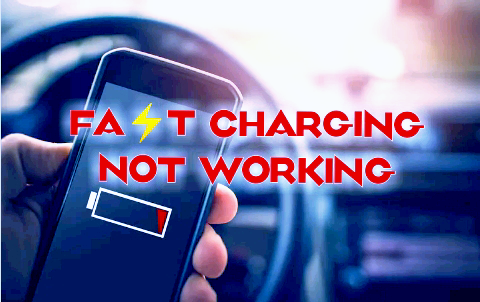How to fix fast charging not working on Smartphone