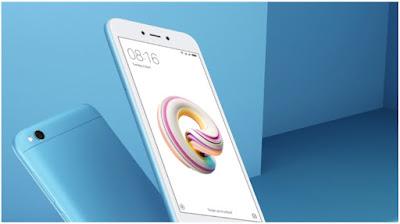 10 HP Android Dengan RAM 3 GB Terbaik - Harga 1 Jutaan - Xiaomi Redmi 5A