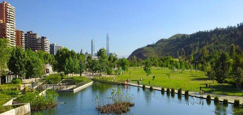 Bicentenario Park, Santiago de Chile.