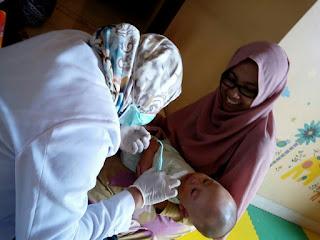 periksa edukasi dokter gigi anak balita jogja yogyakarta