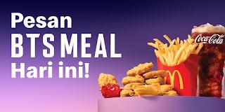 5 Cara Pesan McDonalds BTS Meal