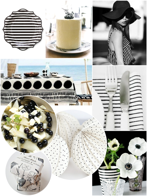 Paint My Party | Un été Monochrome | BirdsParty.fr