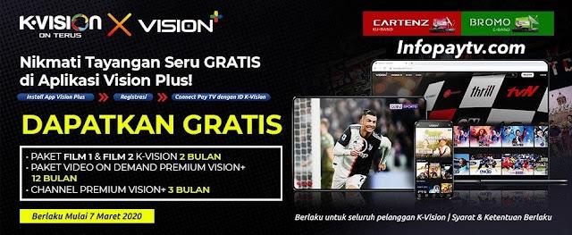 Promo Vision+ K-Vision