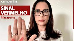 Senadora Mailza Gomes adere campanha Sinal Vermelho para ajudar mulheres vítimas de violência doméstica no AC