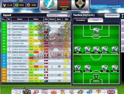 Formation Top Eleven 2015 Apk