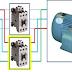 دائرة القدرة لتشغيل محرك ثلاثي الاطوار على اتجاهين