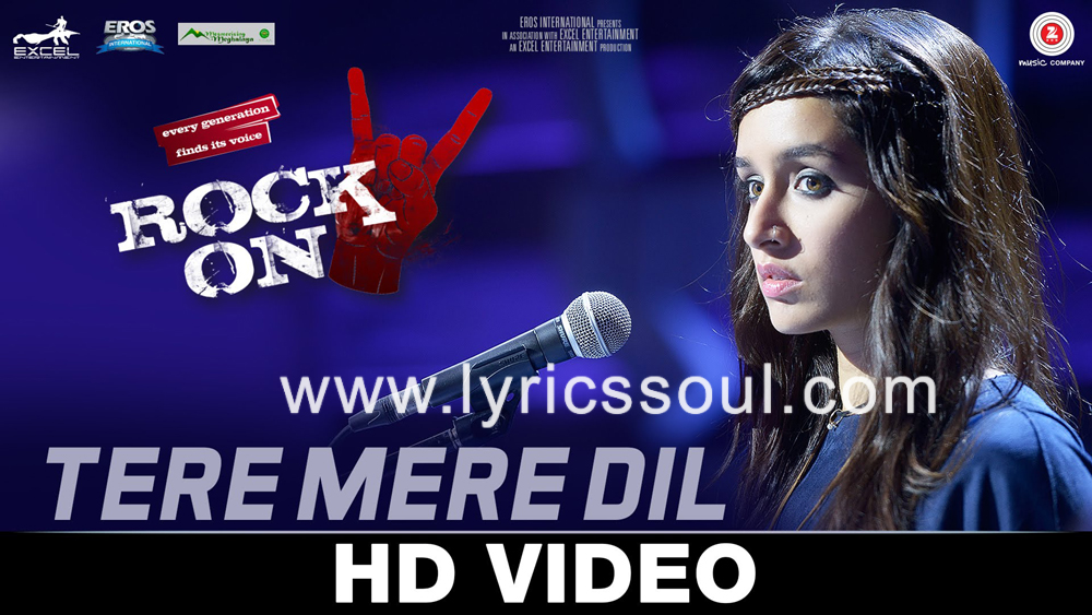 The Udja Re lyrics from 'Rock On 2', The song has been sung by Shraddha Kapoor, , . featuring Farhan Akhtar, Arjun Rampal, Purab Kohli, Shashank Arora. The music has been composed by Shankar-Ehsaan-Loy, , . The lyrics of Udja Re has been penned by Javed Akhtar
