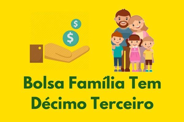 Governo Bolsonaro começa a pagar o 13º do Bolsa Família nessa terça (10). Saiba tudo sobre o Abono Natalino!