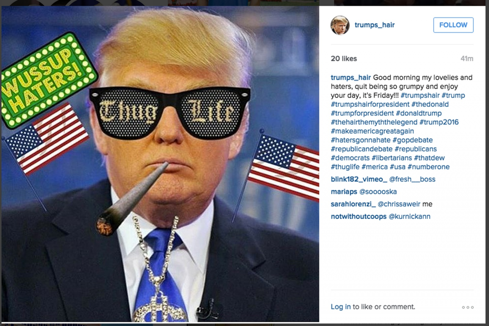 Trump is Right: Ultimate Thug Life Donald Trump (Debate Aug 2015)