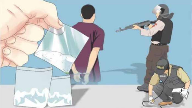 Diduga Pesta Narkoba, Tiga Perwira Satres Narkoba Polrestabes Surabaya Ditangkap