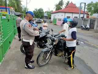 Sejumlah Motor Bertangki Besar Diamankan Polisi, Ada apa ?