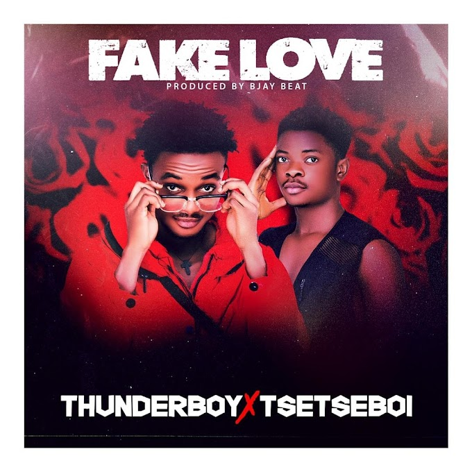 ThunderBoy X TsetseBoi - Fake Love (Prod. By Bjay Beat)