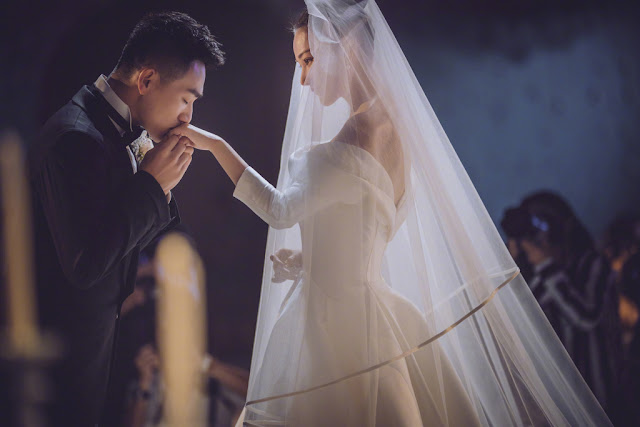 Viann Zhang Xinyu bridal photos
