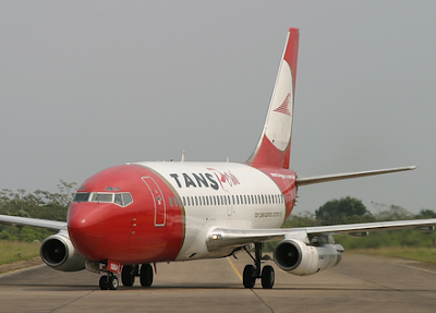 تانس بيرو الرحلة 204