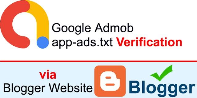 How to Verify Admob app-ads.txt via Blogger Website | Blogger app-ads.txt Verification for Android Apps