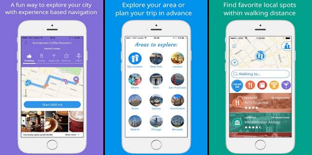 Sidekix; aplikacja; app; travel app