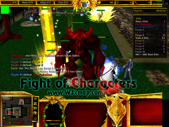 Fight of characters 8. 0h warcraft 3 maps epic war. Com.