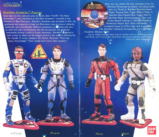 Star Trek Playmates Action Figure Starfleet Academy
