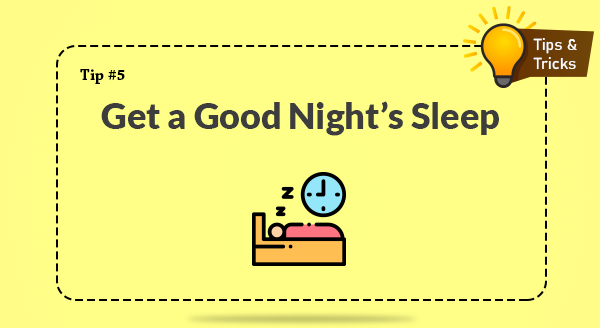 Get Good Night's Sleep