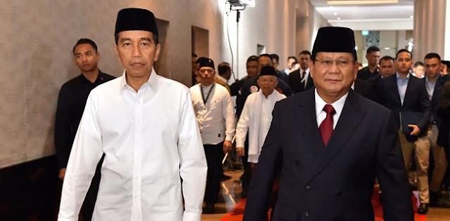 Jokowi: Kemungkinan Gerindra Masuk Ke Koalisi
