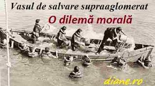 O dilemă morală - Vasul de salvare supraaglomerat