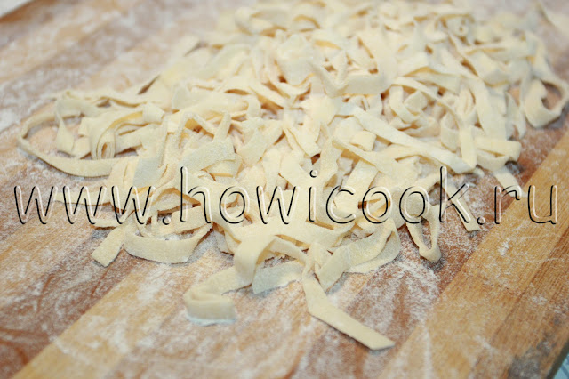 рецепт супа с перепелками и домашней лапшой