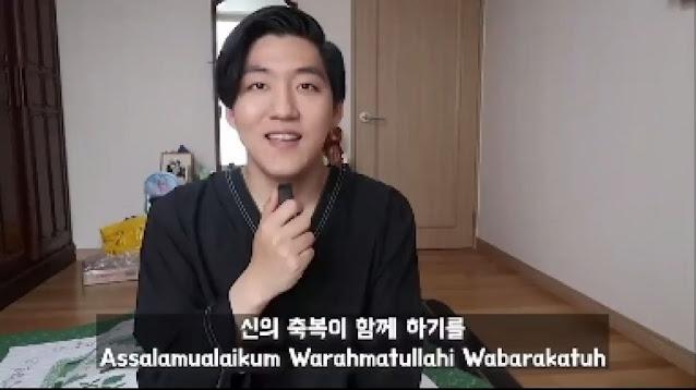 Viral Kisah Daud Kim Jadi Mualaf: 'Agama Islam Cocok Bagi Orang Korea'